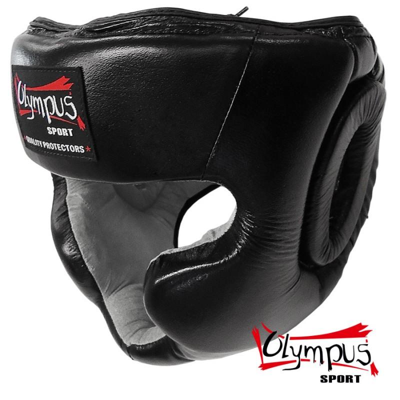Olympus Κάσκα Olympus Δερμάτινη TRAINING Προστασία Μήλο/Σαγώνι