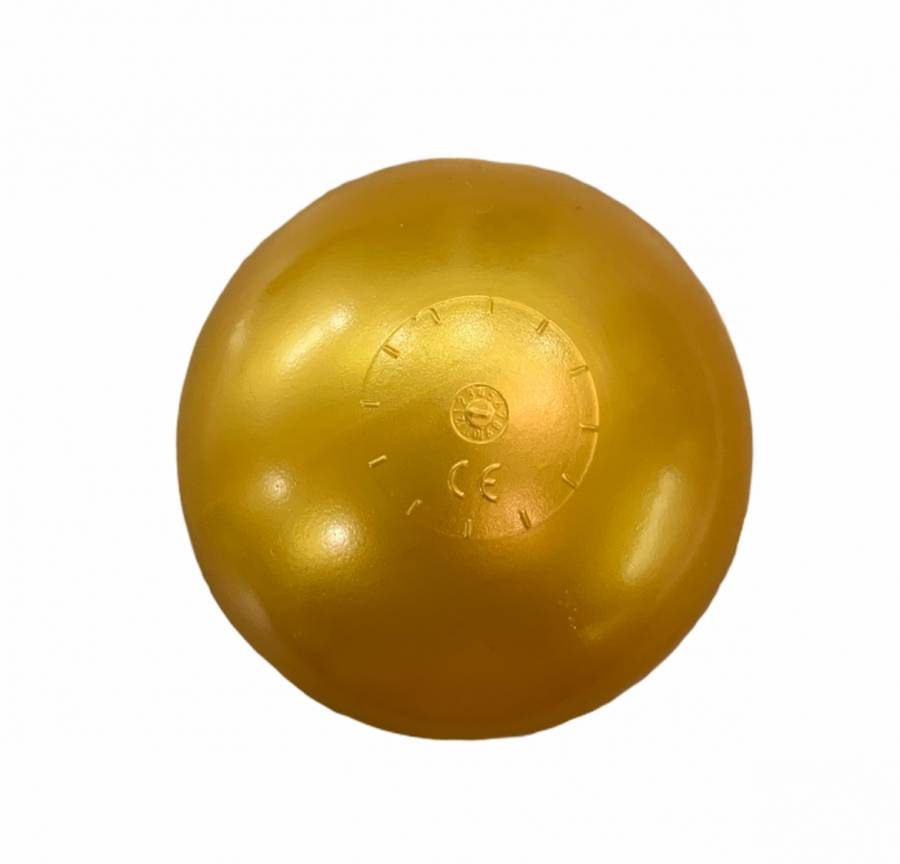OEM Μπαλάκια 7.5εκ Παιδότοπου – Μπαλοπισίνας 200τεμ Χρυσό