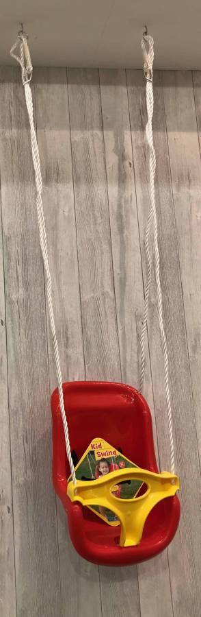 ebb538fd5a6 Starplay Παιδική Κούνια κήπου κρεμαστη με Σχοινί No 9,κοκκινη,32506