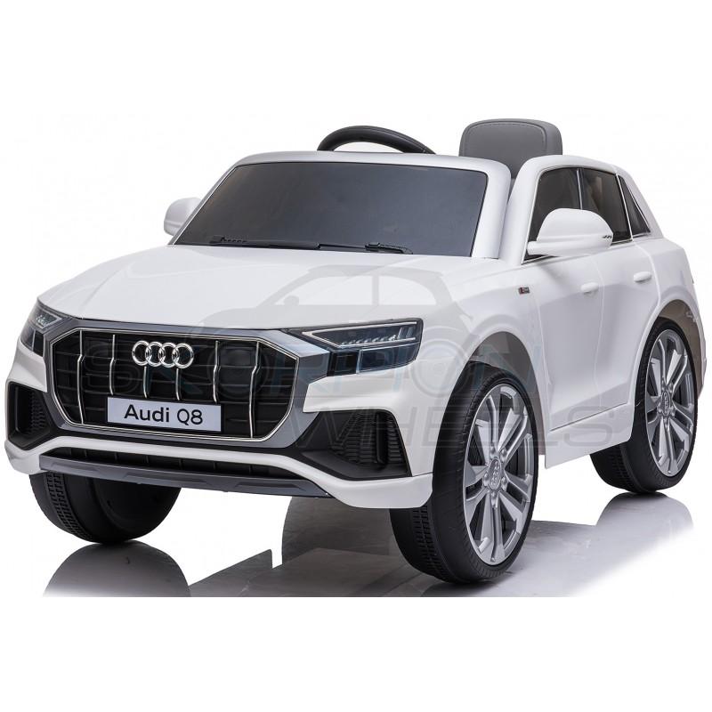 ScorpionWheels Παιδικό Αμάξι Αυθεντικό Audi Q8 12V Skorpion Wheels Λευκό