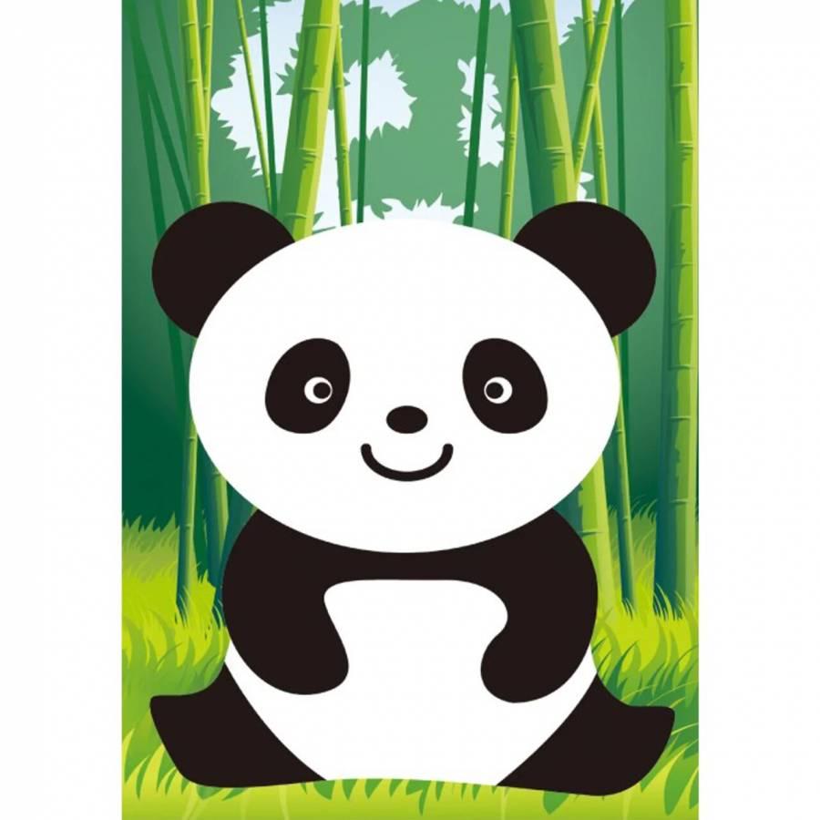 Κατασκευή Ψηφιδωτού kit Panda 17cm X 22cm