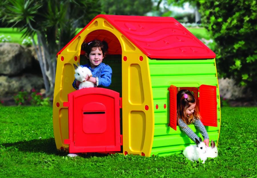1b9cb73352c9 Trampolino StarPlay Παιδικό Σπιτάκι Κήπου Magical House StarPlay 003.10-561