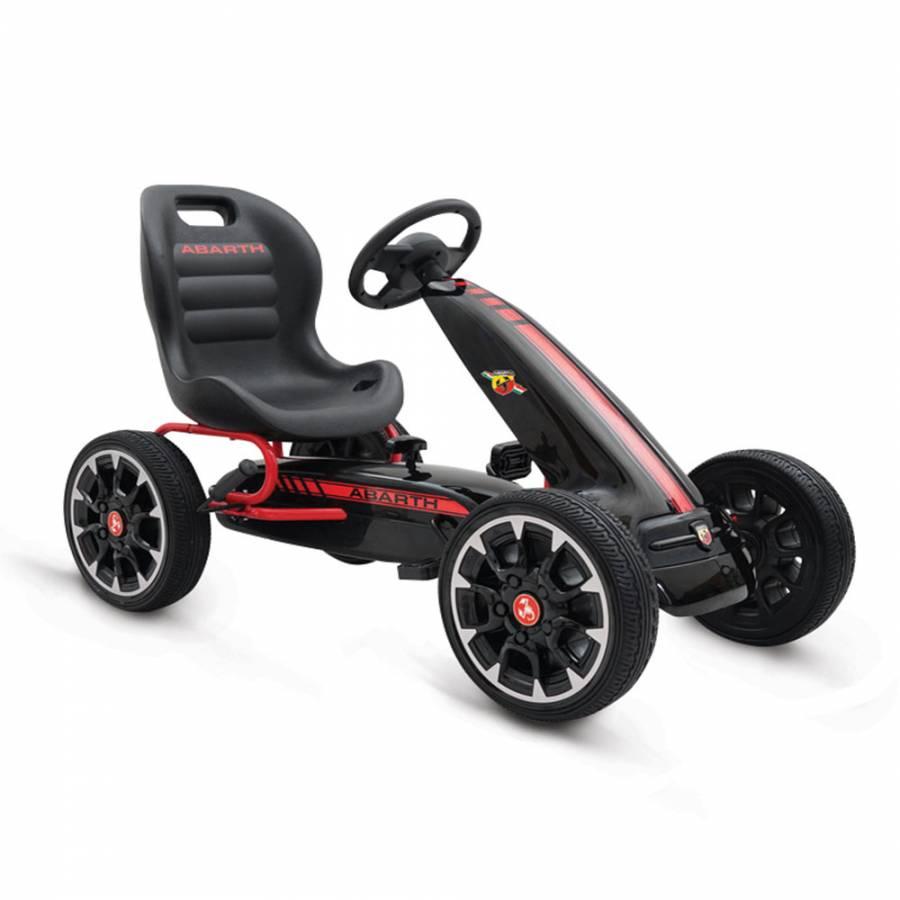 Moni Παιδικό Go Kart Αυτοκινητάκι με πετάλια Abarth 500 Assetto Black