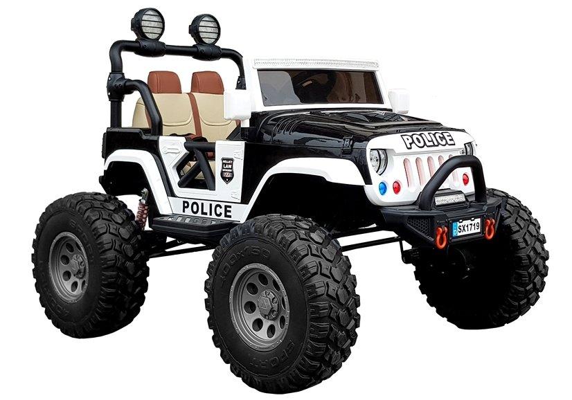 OEM Παιδικό ηλεκτρικό αστυνομικό Jeep 4X4 XXL
