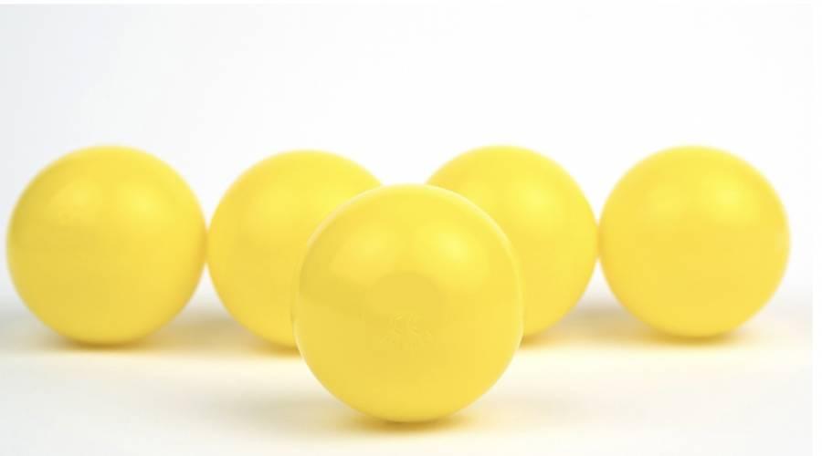 Trampolino.gr Μπαλάκια Παιδοτοπου Κίτρινα 500τεμ 7.5cm,512310