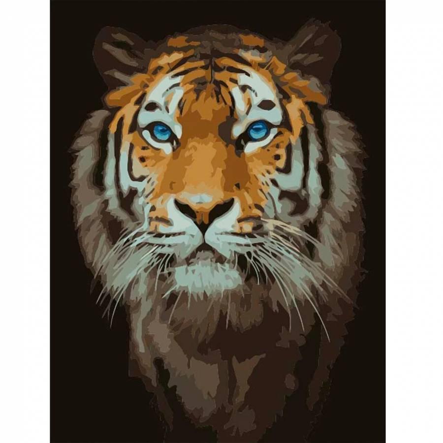Ζωγραφιστέ με Αριθμούς kit Λιοντάρι 40cm X 50cm