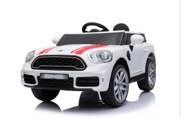 ZitaToys Ηλεκτροκίνητο Αυτοκίνητο Τύπου Mini Cooper Λευκό