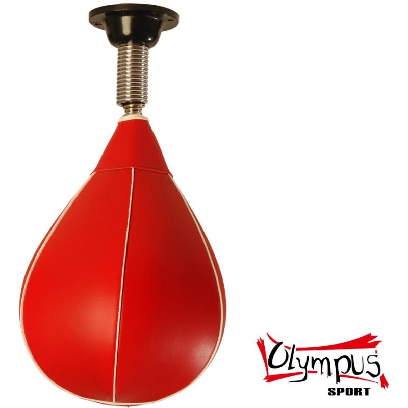 Olympus Στοχος Αχλάδι Μπάλα Ταχύτητας Οροφοης απο Pvc με ελατηριο και Βαση SpeedBall