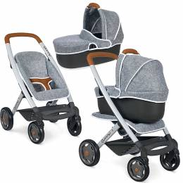 Smoby καροτσακι 3 σε 1 κουκλας MC AND Q PUSHCHAIR (253104)