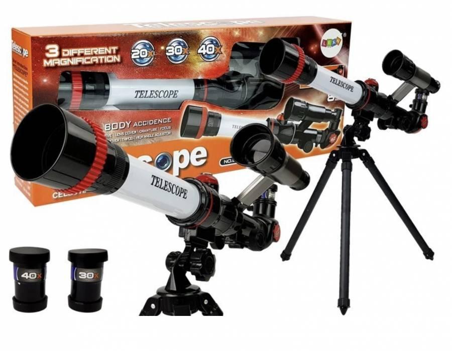 OEM Παιδικό Τηλεσκόπιο 32mm Μεγέθυνσης 20-30-40x με Τρίποδο